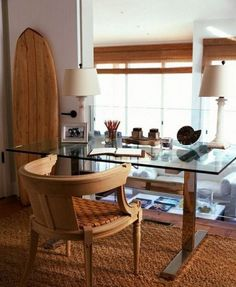 Exceptionnel ComfyDwelling.com » Blog Archive » 30 Inspiring Coastal And Beach Inspired  Home Offices. Home Office DesignOffice DecorHouse ...