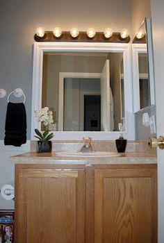 DIY Mirror Frame!