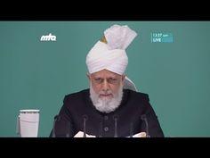Hutbe Alemlere Rahmet Peygamberimiz (s.a.v.) Cuma Hutbesi 16-12-2016 - Islam Ahmadiyya