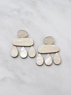 Cloud Earrings by Wolf & Moon