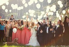 5 Fantastic Ways on How to Add More Fun for Your Wedding Day - Balloon Release