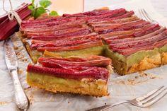 Gâteau à la rhubarbe façon Tatin