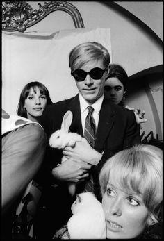 Andy Warhol, Catherine Deneuve, and Edie Sedgwick photographed by Jean Jacues Burgat.
