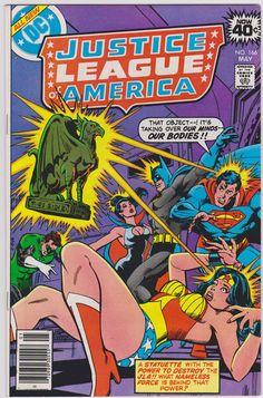 Justice League of America DC Comics #166 Vol1 FN/VF 7.0