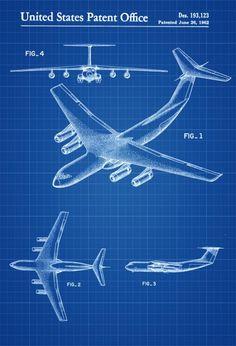 Aeronautical propeller patent aviation blueprint vintage lockheed c 141 airplane patent airplane blueprint pilot gift aircraft decor airplane poster vintage aviation art airplane art malvernweather Gallery
