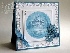 Christmas Lodge Card