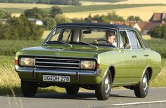 1967 Opel Rekord. Sturdy as a tank! Had one of these.