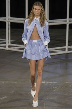 See the complete Alexander Wang Spring 2014 Ready-to-Wear collection.