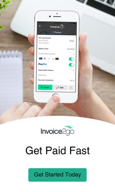 Invoice Payment Reminder By Invoicego App Invoicego Pinterest - Invoice2go app