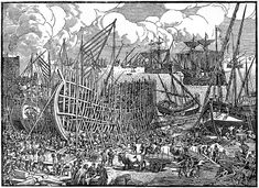 Ship building in Lisbon during age of discovery- early century Portuguese Empire, Portuguese Language, Arsenal, Age Of Discovery, Early Modern Period, Roman Empire, 16th Century, Lisbon, Continents