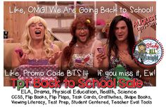 TpT Back to School Site Wide Sale! Promo Code BTS14. Up to 28%! August 4th -5th. #TpT #StudyAllKnight