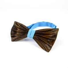 OKTIE - wooden accessories: NEW!!! OKTIE 3D Chocolate Brown Wooden Bow Tie