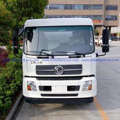 multi compartment heavy duty oil tanker truck