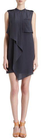 3.1 Phillip Lim Draped Shoulder Utility Dress