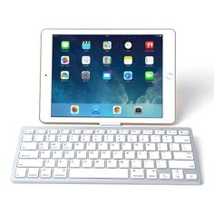 acbb62717cf Imikoko® Universal Ultra Slim Bluetooth Wireless Keyboard - White