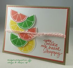 Windy's Wonderful Creations, Stampin' Up!, Apple Of My Eye, Lovely Amazing You