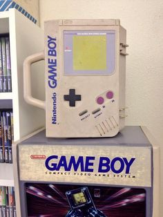 Put your Game Boy in a Game Boy. Cool carry case!
