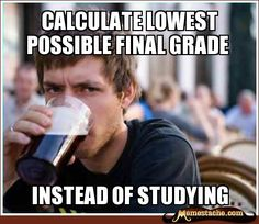 Calculate lowest possible final grade