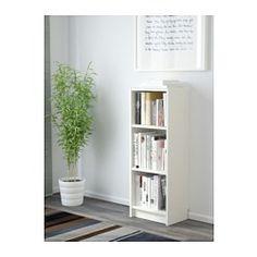 IKEA - BILLY, Bücherregal, weiß, , Regale mit geringer Tiefe nutzen den…