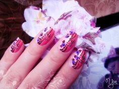 Vintage Floral Nails | unghiicurcubeu