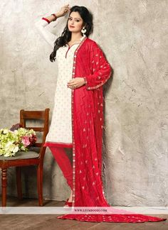 Buy Bewitching White Red Coloured Printed Unstitched Salwar Kameez Get 10% Off on Designer Salwar Kameez From Leemboodi Fashion with Free Shipping in INDIA Now Available on Cash On Delivery #ethnic #salwarkameez #salwarsuit #salwar #suit #girl #women #girlsfashion #womensfashion #indianfashion #onlineshop #onlinestore #indiashopping #trends #trendy #fashioninsta #girlswear #womenswear #onlineshopping #fashiongram #fashiondiaries #fashionaddict #desifashion