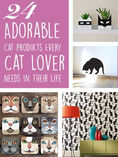 24 adorable products every cat lover needs in their home cat lovers 27 diy