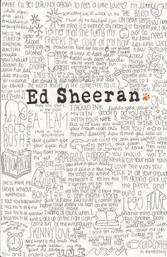 ed sheeran. Art Print by Calm Oceans™ | Society6