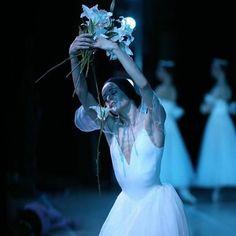 dancing 20 years on this magical stage in St.Petersburg - true happiness... last night's 'Giselle' at Mariinsky Theatre #giselle #mariinsky #twentyyearsanniversary #dianavishneva  photo: Sila Avvakum