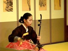 Traditional Korean Music at the Incheon Airport