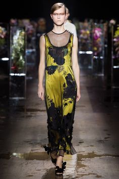 Dries Van Noten Spring 2017 Ready-to-Wear Fashion Show - Julie Hoomans