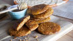 Receta y cómo hacer galletas de miel Pancakes, Muffin, Cookies, Breakfast, Desserts, Food, Homemade Biscuits, Brown Sugar, Honey