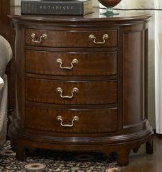 American Cherry Norfolk Demilune Chest By Fine Furniture Design