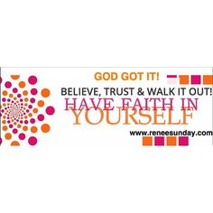 Believe  Trust and Walk it out. Grab a Free Gift at www.reneesunday.com #platformbuilder
