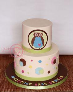 owl cake gallery