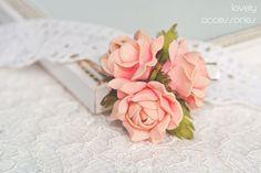 Брошь из фоамирана роза мастер класс