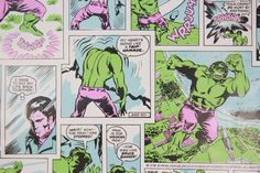 70er Jahre Vintage Tapete Hulk Bruce Banner Marvel Comics Kontakt Paper Peel n Stick von RosiesWallpaper auf Etsy https://www.etsy.com/de/listing/270854154/70er-jahre-vintage-tapete-hulk-bruce