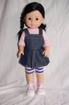 "Paola Reina Soy Tu Lis Asian 17"" Vinyl play Doll Made in Spain American Girl #AmericanGirl"