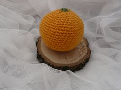 Orange Crochet fruits Kitchen play Food Waldorf Kitchen Decorations Baby Play Food Montessori sensor Educational Learning Amigurumi Crochet Fruit, Love Crochet, Crochet Toys, Baby Gym, Baby Play, Eco Friendly Toys, Kitchen Decorations, Felt Bows, Baby Crib Mobile