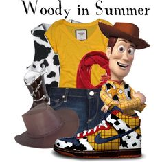 """Woody in Summer"" by agust20 on Polyvore"