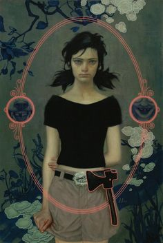 More Fables art from James Jean: Snow White