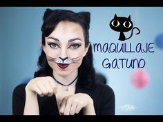 Maquillaje de gatita - Look para fiestas de disfraces - YouTube