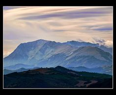 Panorama da Monte San Martino, ottobre 2012 | Flickr - Photo Sharing!