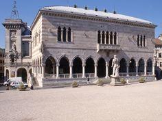 IT, Udine, Loggia del Lionello. Architect Nicolò Lionello, 1457.