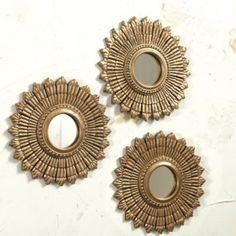 Suzanne Kasler Set of 3 Sunburst   Ballard Designs
