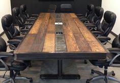 Industrial Conference Table Furniture Design | Design Ideas & Decors