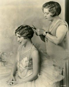 Mary Pickford with bobbed hair, 1929 - Photo by Edwin Bower Hesser. @designerwallace