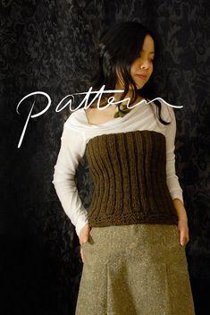 PATTERN  Knitting Pattern for Women  Digital Download  par KnitKnit