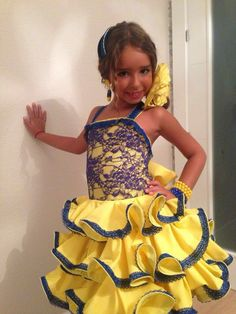 Dance Dresses, Summer Dresses, Flamenco Costume, Pageant, African Fashion, Costumes, United Nations, Disney Princess, Disney Characters