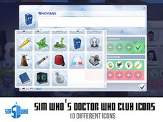 Custom DW club icons