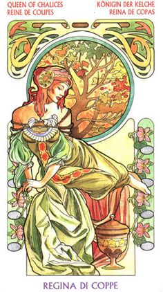 Queen of Cups P13 Your stress levels may increase and your ability to cope with everyday issues could suffer. The Queen of Cups reversed suggests some dissatisfaction or feeling of disconnection from your spirituality that has arisen in your life. This may be as simple as a growing realisation that you need to find your path and get more involved on a meaningful level with others in your faith.